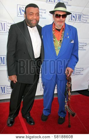 Andrae Crouch and Dr John at the 15th Annual American Society of Young Musicians Spring Benefit Concert and Awards. Scientology Center, Hollywood, CA. 06-07-07