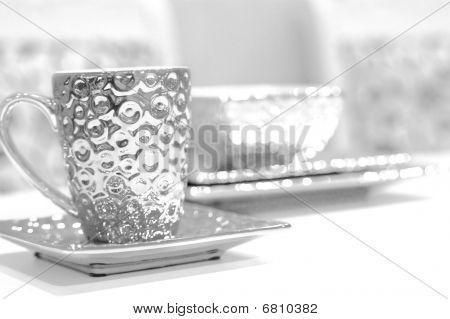 Silver Tea Cup