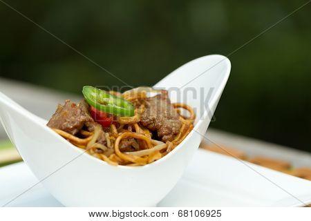 Beef Chow Mein Al Fresco