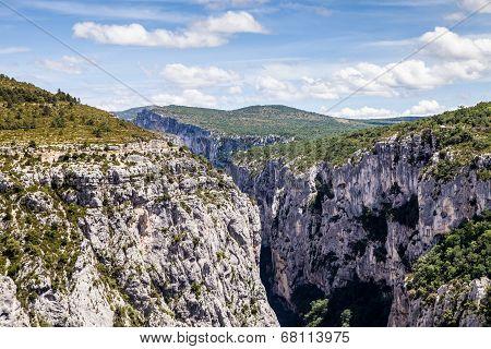 Canyon de Verdon the Verdon Gorge France Provence