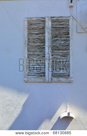 Shuttered Window
