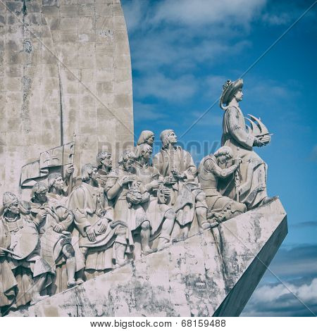 The Monument to the Discoveries in Lisbon.