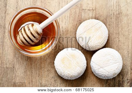 French Fresh Goat Cheese And Honey