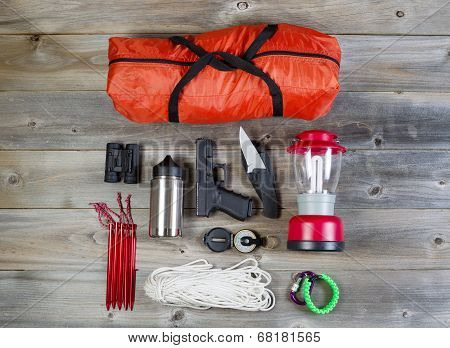 Camping Gear And Personal Protection Accessories