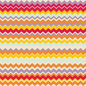 Chevron vector seamless colorful pattern or tile background with zig zag red, purple, yellow, pink and orange stripes poster