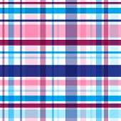 Vector blue violet plaid seamless pattern. Eps10 poster