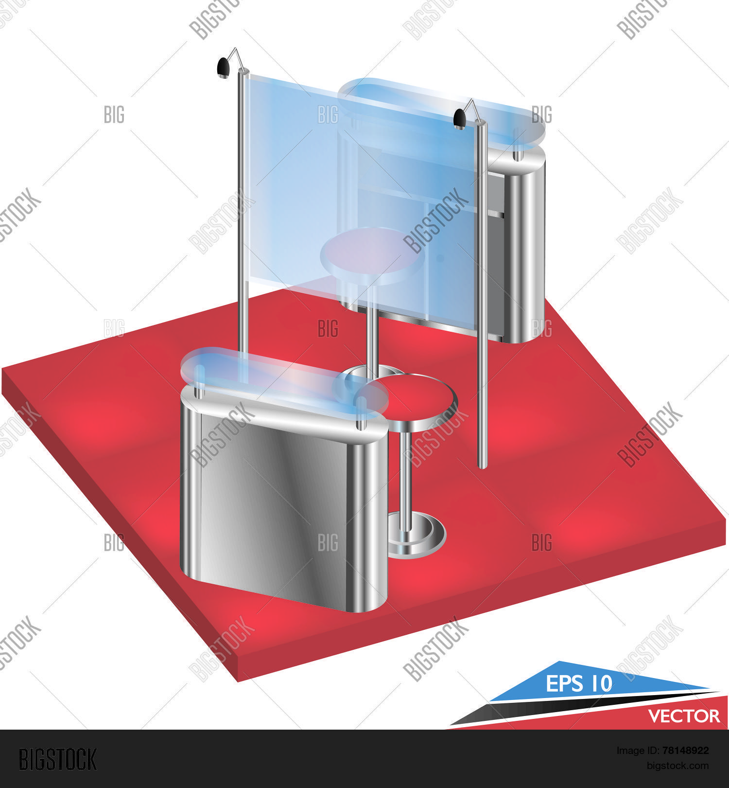 Exhibition Booth Blank : Exhibition booth stock photos stock images and vectors page