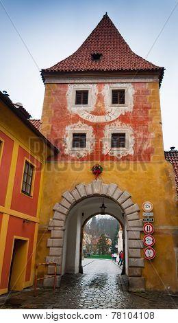 Cesky Krumlov Budejovice Gate