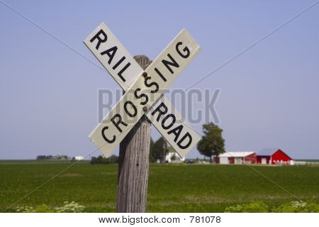 Railroad Crossing Sign II