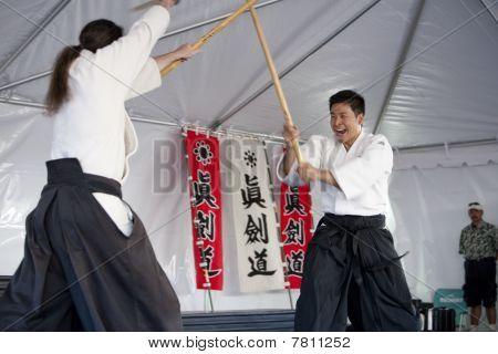 Shinkendo Practice