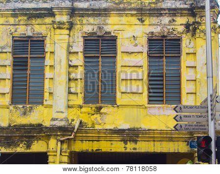 Grecian-spanish Style Buildings