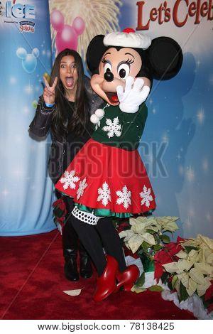 LOS ANGELES - DEC 11:  Roselyn Sanchez, Minnie Mouse at the