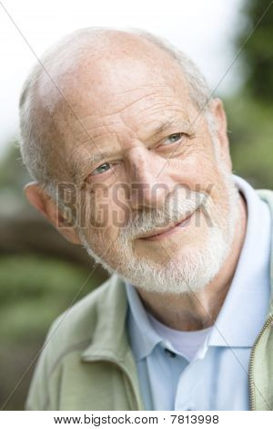 Portait Of Senior Man