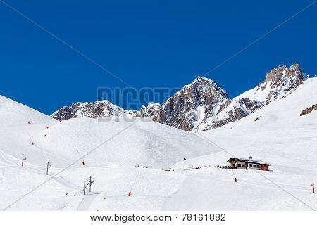 Ski slopes, Tignes France