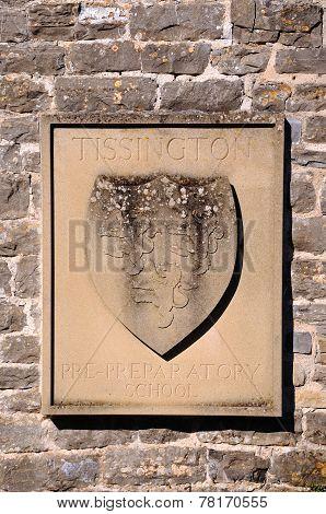 Tissington Pre-Preparatory school shield.