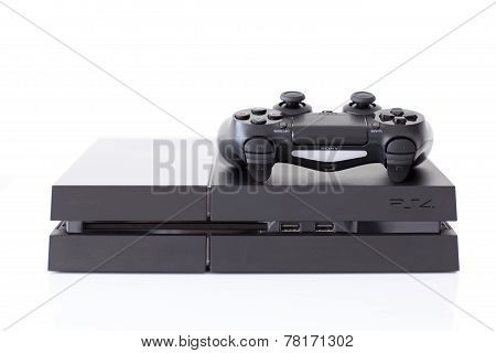 Sony Playstation 4 Game Console Of The Eighth Generation