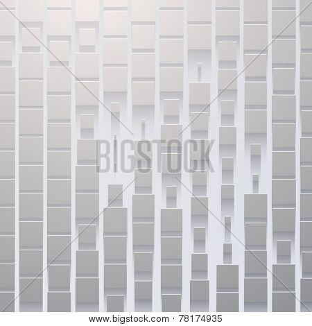 Abstract Vector Background Texture with flat shadow