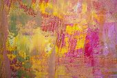 detail original artwork oil painting on stretched canvas for backdrop giclee texture poster