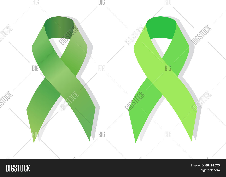 Green Ribbon Vector Photo Free Trial