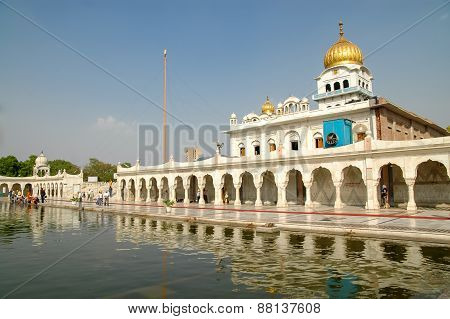 Gurudwara Bangla Sahib In New Delhi, India