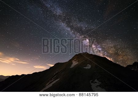 The Milky Way High In The Alps