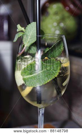 Cocktail In A Buffet Aperitif