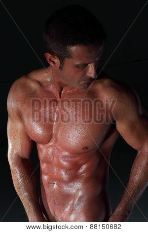 Bathed Man