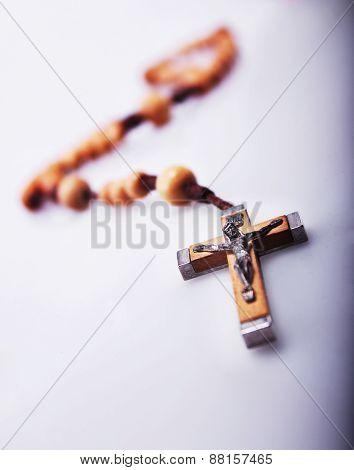 Crucifixion of Jesus Christ (pectoral pendant) close up