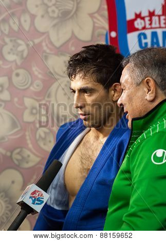 Umbayev Nasim Gives An Interview
