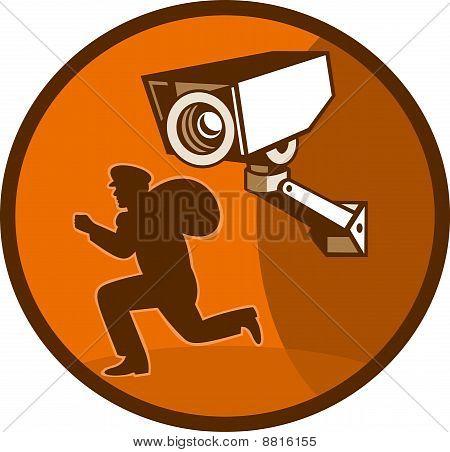 Einbrecher Dieb ausgeführt cctv