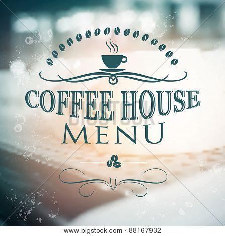 Vintage Coffee House menu card