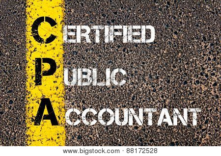 Business Acronym Cpa – Certified Public Accountant