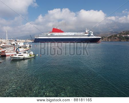 Greek Ferry