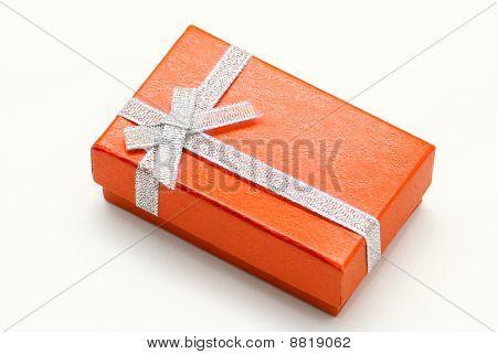 Rectegular Orange Gift Box