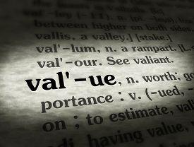 Dictionary Value Black On BG