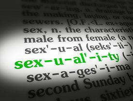 Dictionary Sexuality