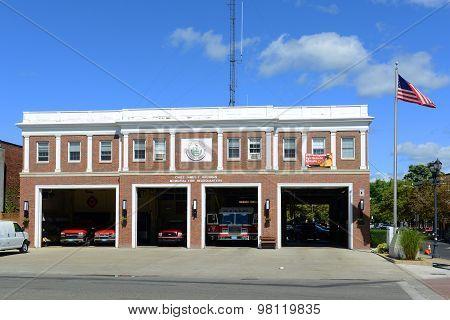 Fire Headquarters, Salem, Massachusetts