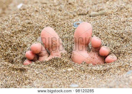 Foot On The Sand, Summer Theme