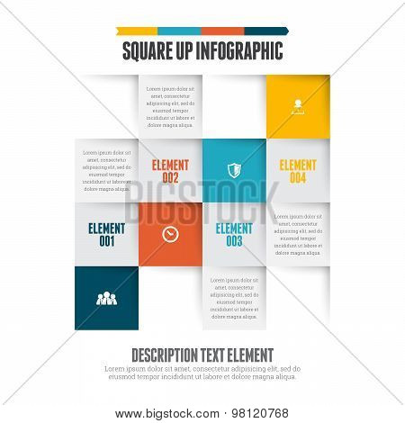 Square Up Infographic