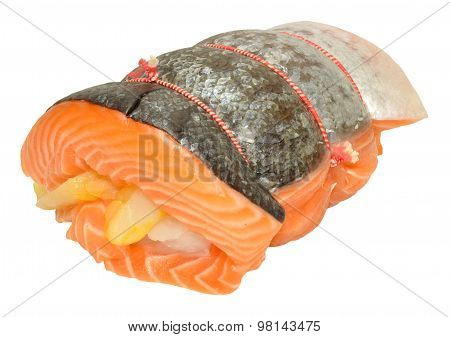 Raw Three Fish Roast
