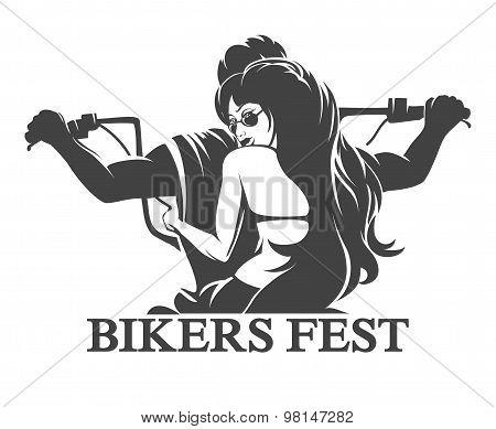 Bikers Fest Emblem.