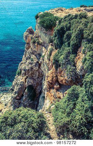 Cliff At Malta