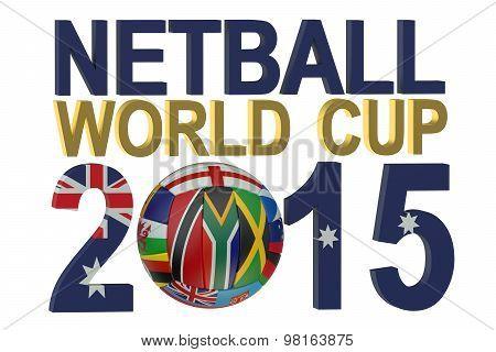 Netball World Cup 2015 Australia Concept