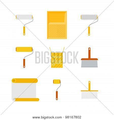 Home Repair Flat Icons