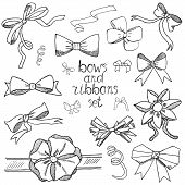 bow, ribbon, vector, outline, drawing, isolated, hand, decoration, curling, holiday, symbol, stencil, celebration, graphic, decor, accessorie, tied, handmade, element, gift, elegant, box, illustration, ornamental, object, project, decorate, decorative, co poster
