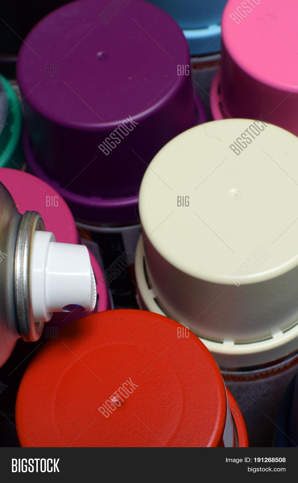 New Spray Paint Cans  Image & Photo (Free Trial) | Bigstock