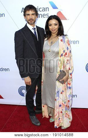 LOS ANGELES - JUN 10: Christopher Gorham, Anel Lopez Gorham at the 2017 Stand For Kids Annual Gala Benefiting Orthopedic Institute For Children at The MacArthur on June 10, 2017 in Los Angeles, CA