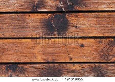 Wooden slats close-up . Background texture .