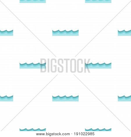 Water pattern seamless flat style for web vector illustration