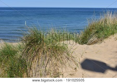 Lake Michigan Beach at Tunnel Park - This photo was taken in Holland Michigan